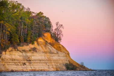 "The ""Horsehead Cliffs"" at Westmoreland State Park"