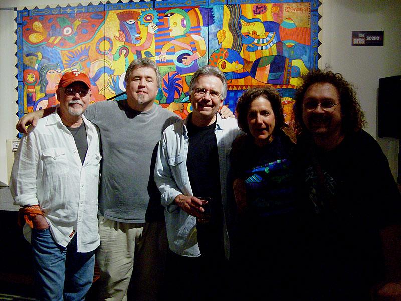 craig bickhardt, moi, tommy geddes, julie gold and don henry