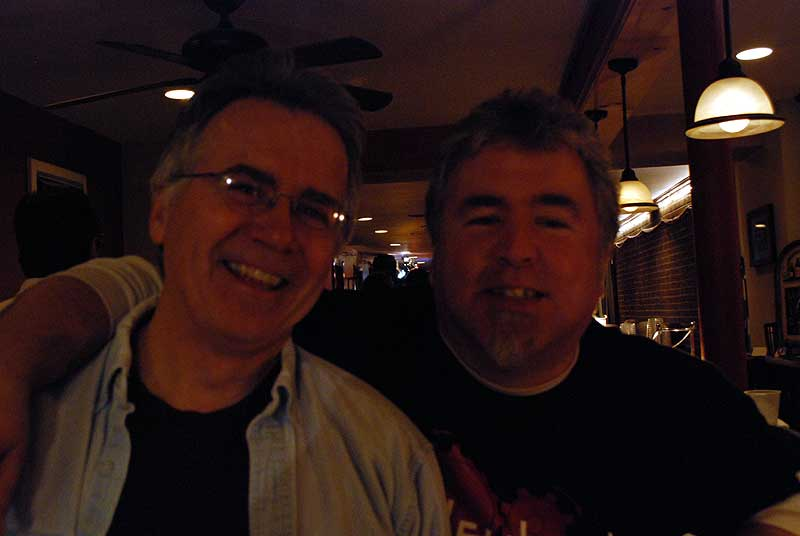 with tommy geddes at the bar