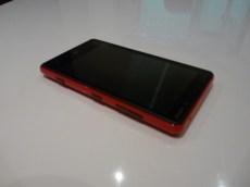 Nokia Lumia 820 coté boutons