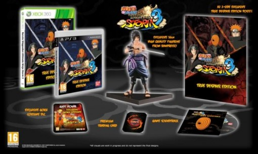 naruto shippuden ultimate 3 Collector 3