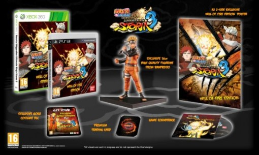 naruto shippuden 3 collector 1