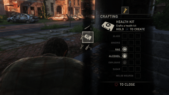 ingame inventaire the last of us