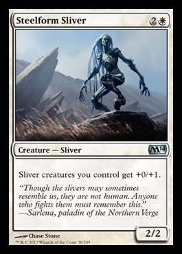 Magic 2014 steelform sliver