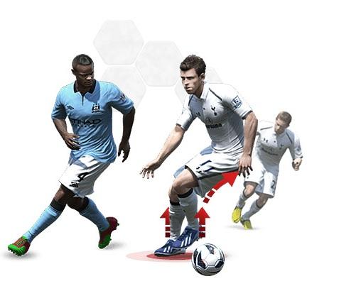Déplacement inertie FIFA 14