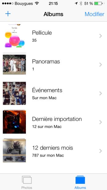 iOS 7 Menu photos