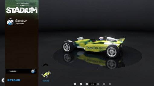 Trackmania 2 Stadium éditeur de voiture
