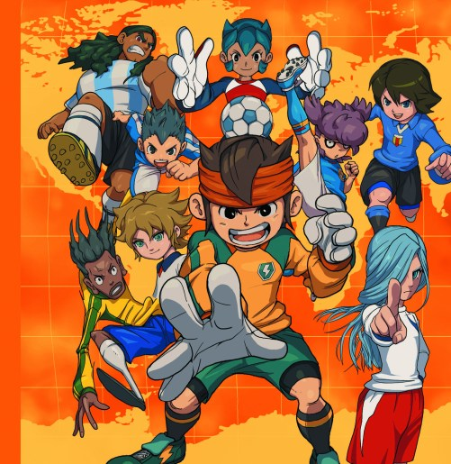 Inazuma eleven 3 3DS team