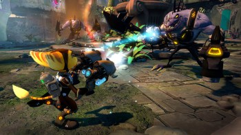 Ratchet & Clank PS3 omniblast