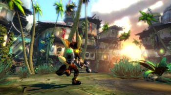 Ratchet & Clank PS3 lance flamme