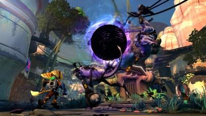 Ratchet & Clank PS3 vortex