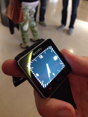 Prise en main Sony Smartwatch 2