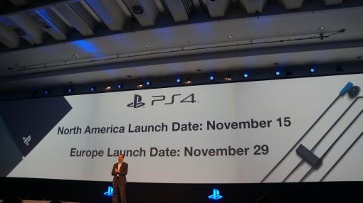Date de sortie PS4 Gamescom