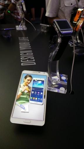 Galaxy Note 3 et Galaxy Gear