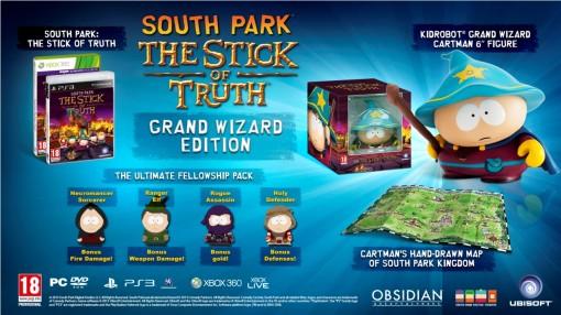 Edition collector Grand sorcier South Park: Le Bâton de la Vérité