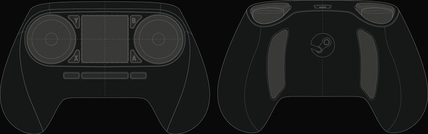 Steam Controller schéma