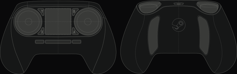 Steam Controller schéma