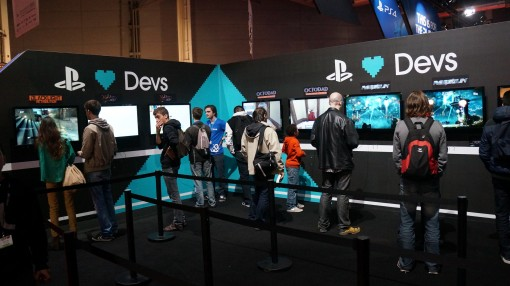 PS4 PGX Playstation loves independant devs