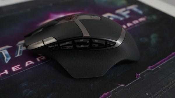 Logitech G602 boutons programmables