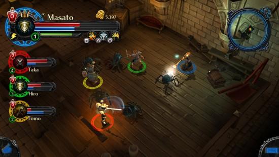 Dungeon Hunter Alliance gameplay