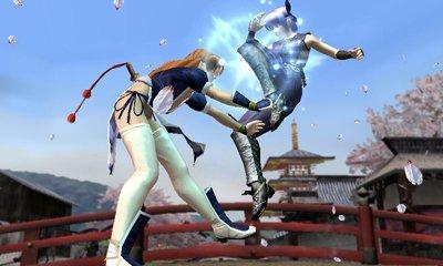 dead-or-alive-dimensions-nintendo-3ds Kayane vs ayane