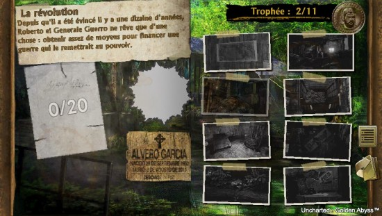 uncharted golden abyss enigme