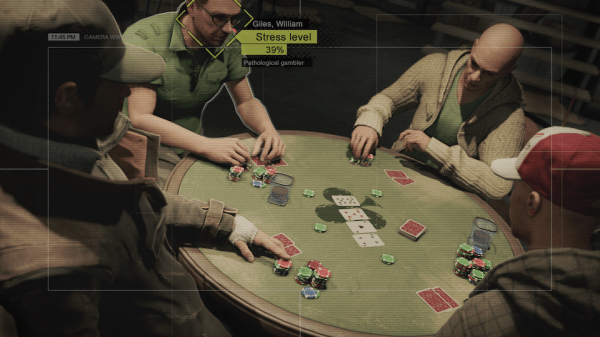 Watch dogs poker