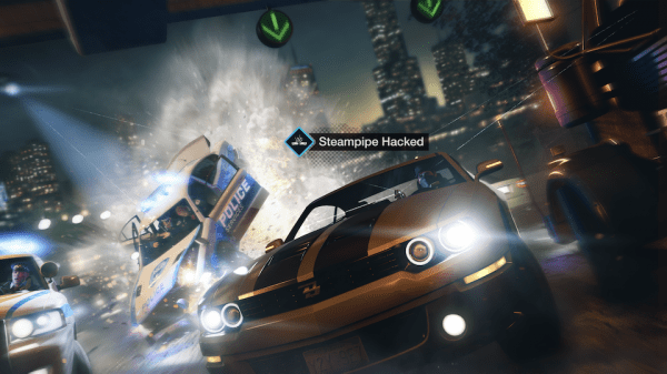 Watch dogs course poursuite