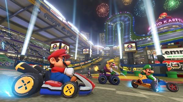 Mario Kart 8 Mario & Luigi