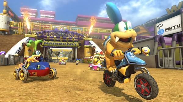 Mario Kart 8 rally