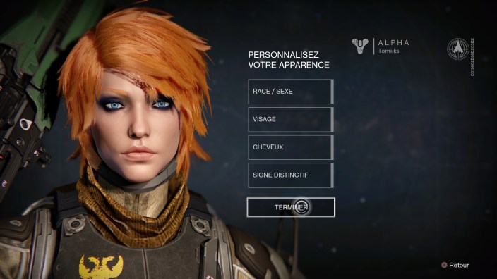 Destiny - Ginger