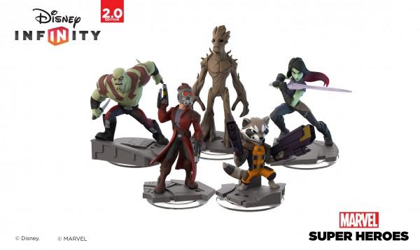 Line up Gardiens de la galaxy Disney Infinity Marvel