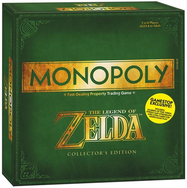 Zelda Monopoly Box