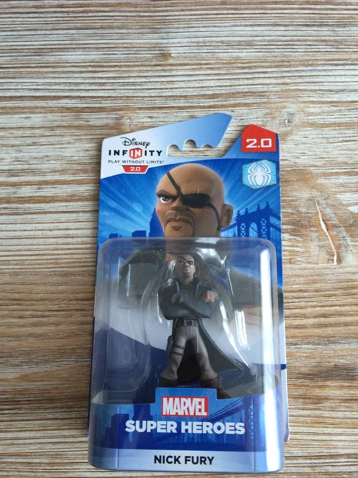 Figurine 'Disney Infinity 2.0' - Marvel Super Heroes Nick Fury 1