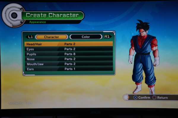 Dragon Ball Xenoverse Personalisation