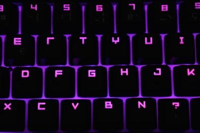 Razer BlackWidow Ultimate Chroma purple