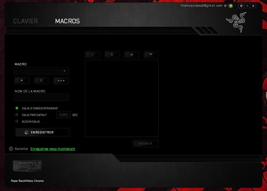 Razer BlackWidow Chroma Macro
