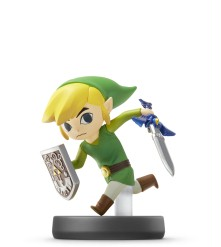 Amiibo Link Cartoon