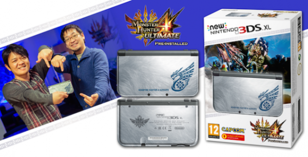 Bundle New Nintendo 3DS Monster Hunter Ultimate Edition