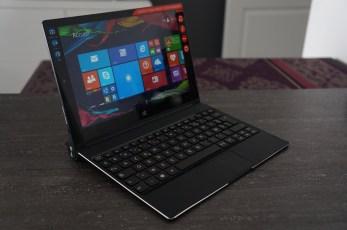 Avec le clavier, on passe de la tablette au netbook