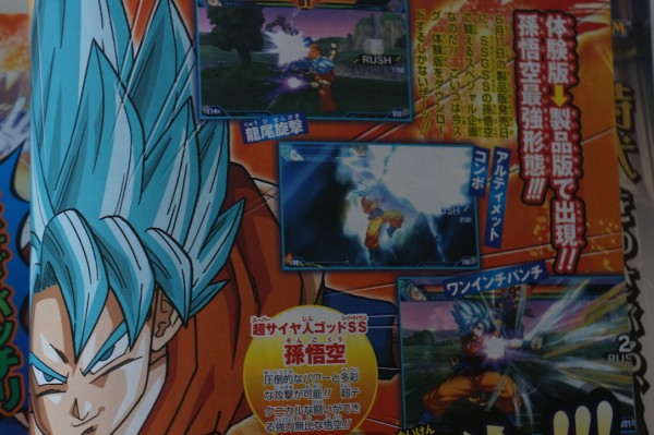 DBZ Extreme Butoden Goku SSGSS