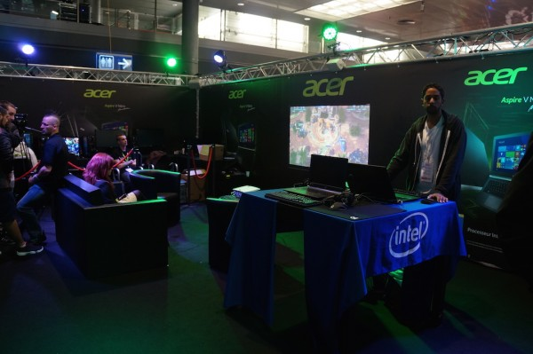 Stand Acer DreamHack 2015 Tours