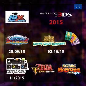 Sortie 3DS 2015