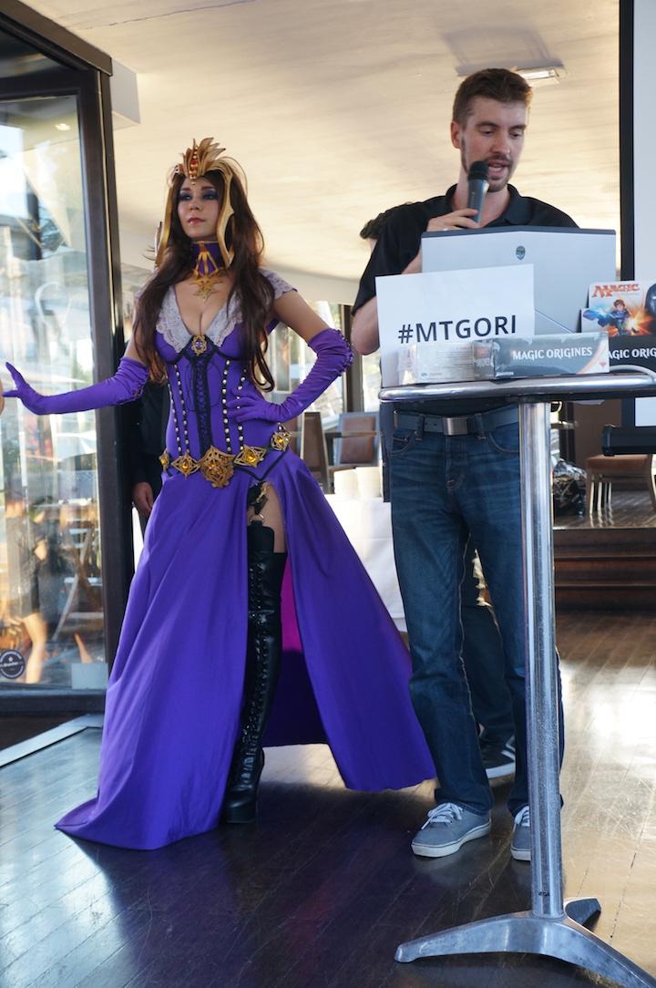 Liliana cosplay Magic Origins
