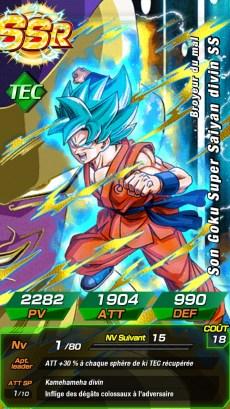 Dokkan Battle Goku SSGSS