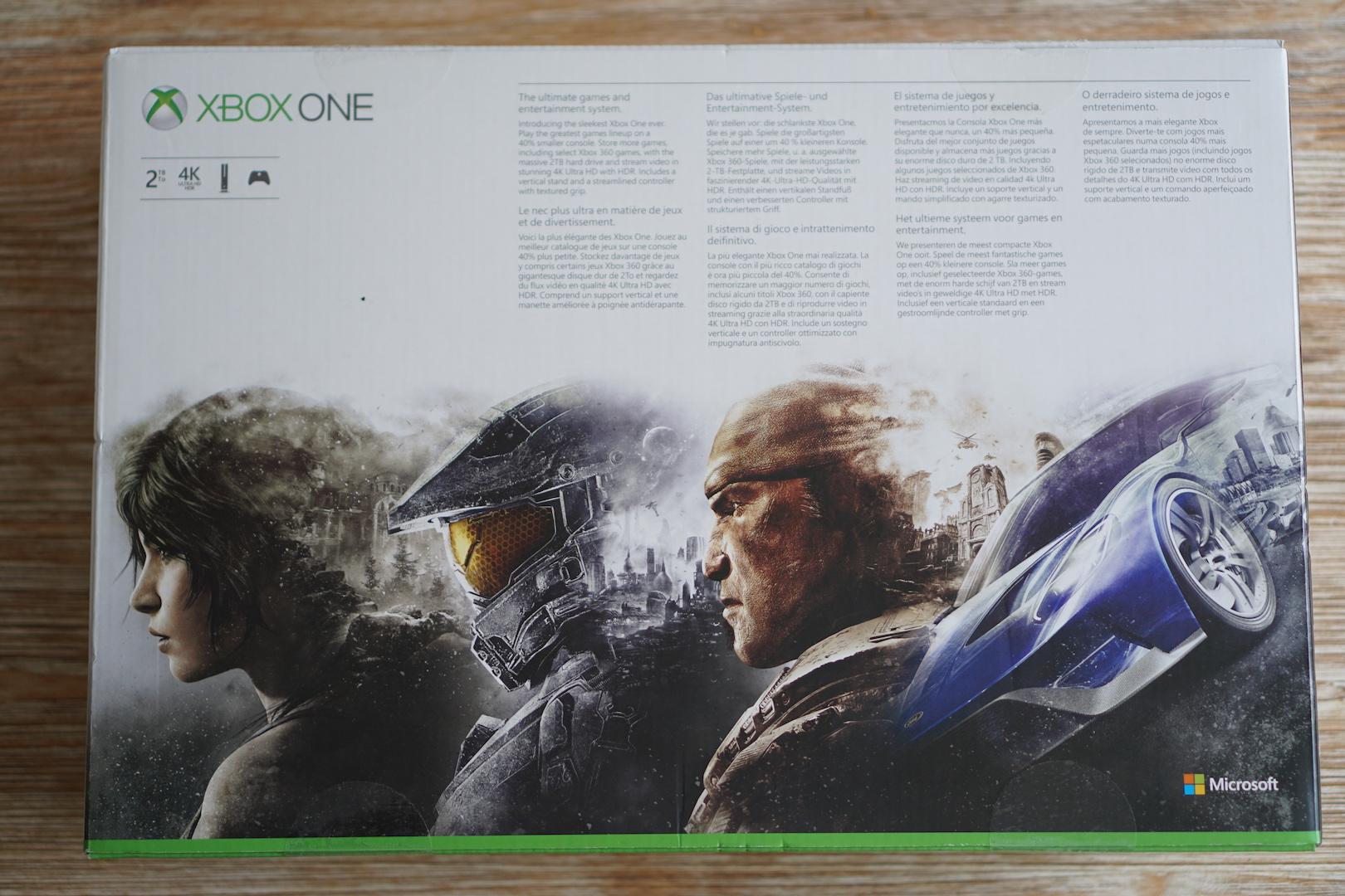 Unboxing Xbox One
