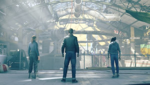 Quantum Break la piscine