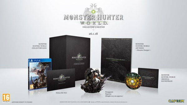 Monster Hunter World édition Collector