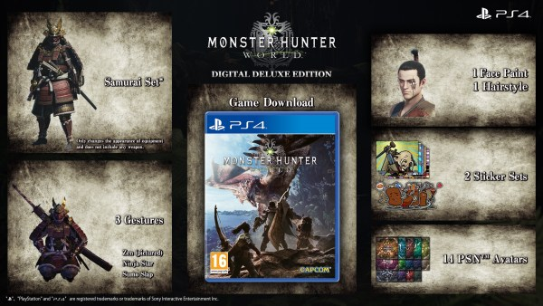 Monster Hunter World édition Deluxe digitale