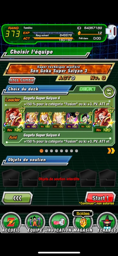 Goku Extreme Z Battle